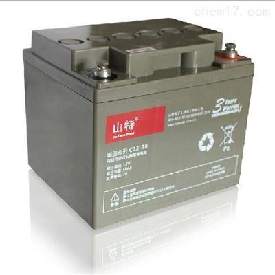 6GFM120山特铅酸阀控式免维护蓄电池12V120AH