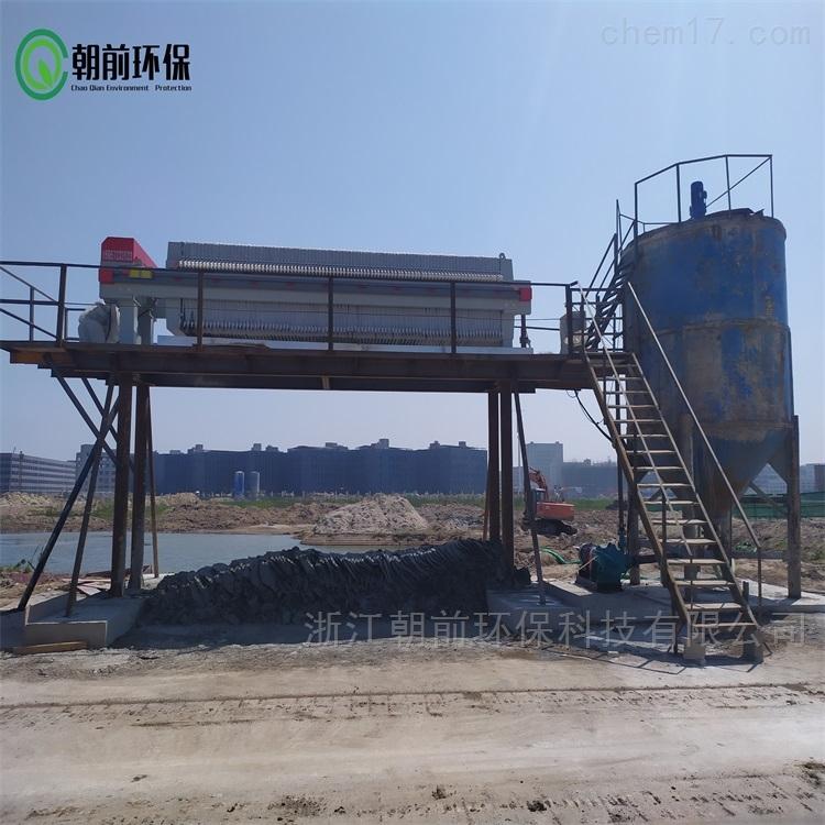 钻孔灌注桩泥浆压榨脱水压干设备