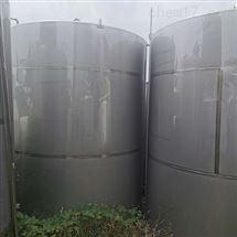 二手60立方不锈钢储水罐供应多台