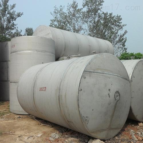 二手80方不锈钢立式储油罐回收多种型号