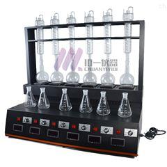 青海挥发酚蒸馏器CYZL-6C氨氮蒸馏仪