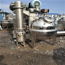 500L供应二手球形浓缩蒸发器