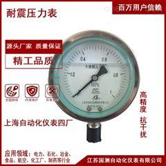 YB-100上自仪隔膜压力表/耐震/型号