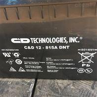 12V815AH大力神蓄电池C D12-815A DNT免维护