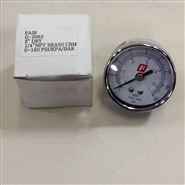 仙童Fairchild压力表,圆形0-160PSI压力计