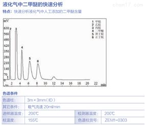 液化气中二甲醚的快速分析