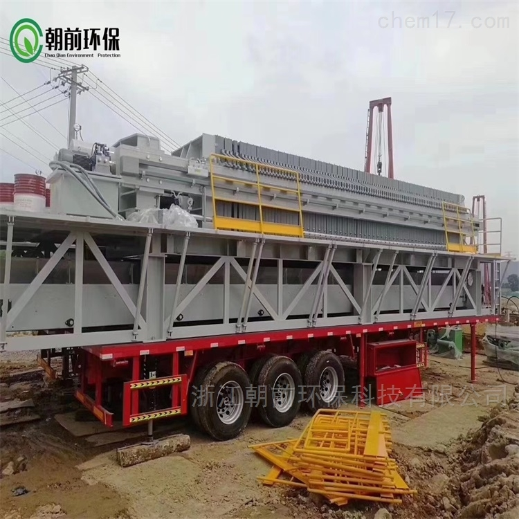 移动式建筑打桩泥浆压缩干化设备