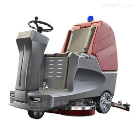工廠清洗用電瓶式洗地車