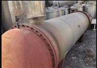 二手50-100-150平方不銹鋼列管冷凝器
