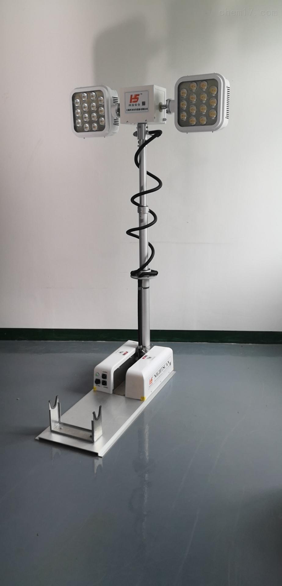 伏杆升降照明灯户外应急汽车曲臂车载照明设备