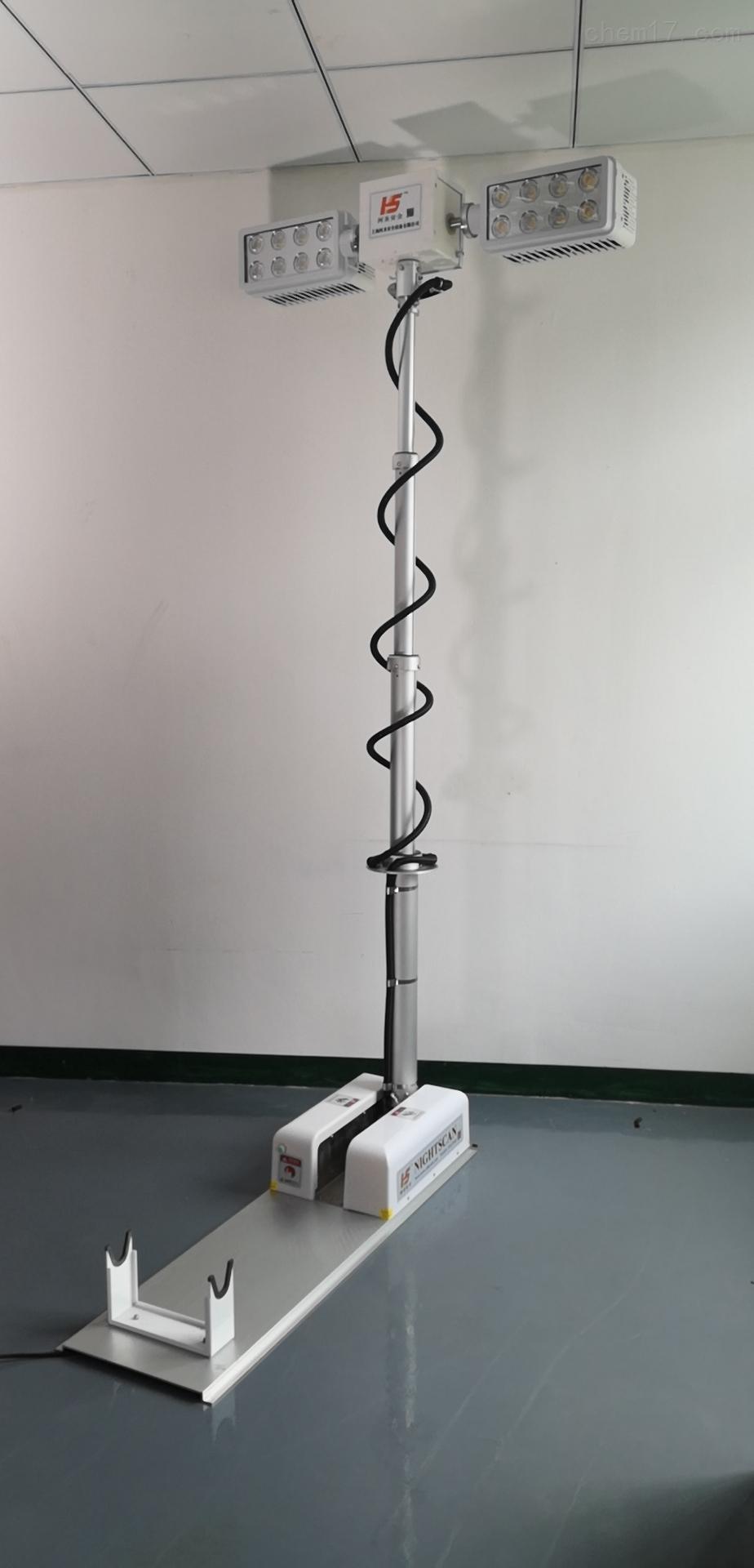 曲臂升降照明代发加工汽车遥控升降工作灯