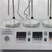 HJ-4B數顯恒溫磁力加熱攪拌器(4頭帶測速)