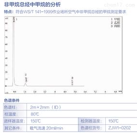 非甲烷总烃甲烷、总烃、填充柱、毛细柱分析
