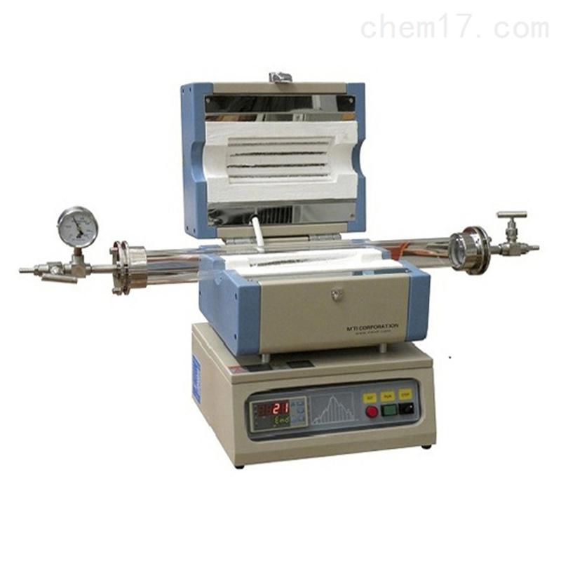 合肥科晶1200℃微型开启式管式炉