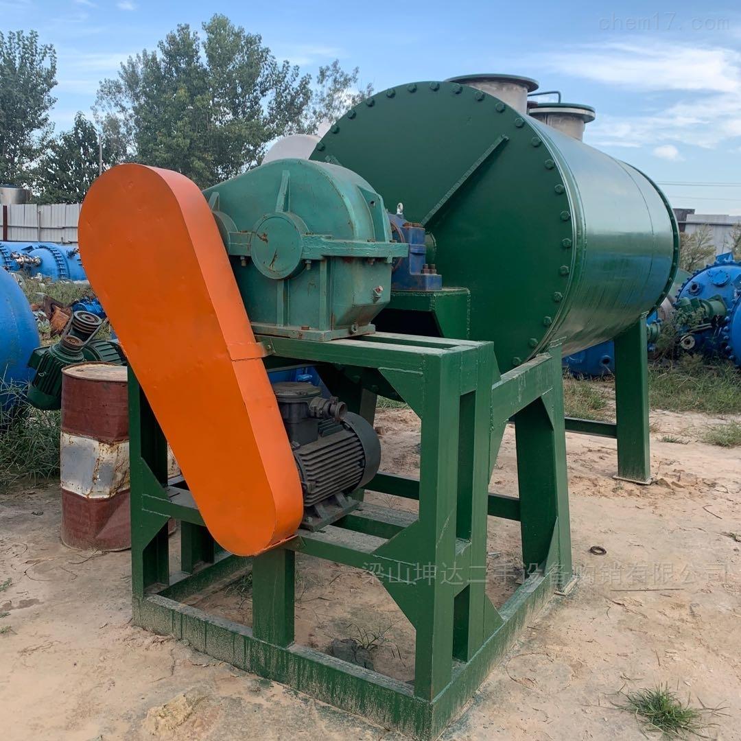回收二手不锈钢真空耙式干燥机