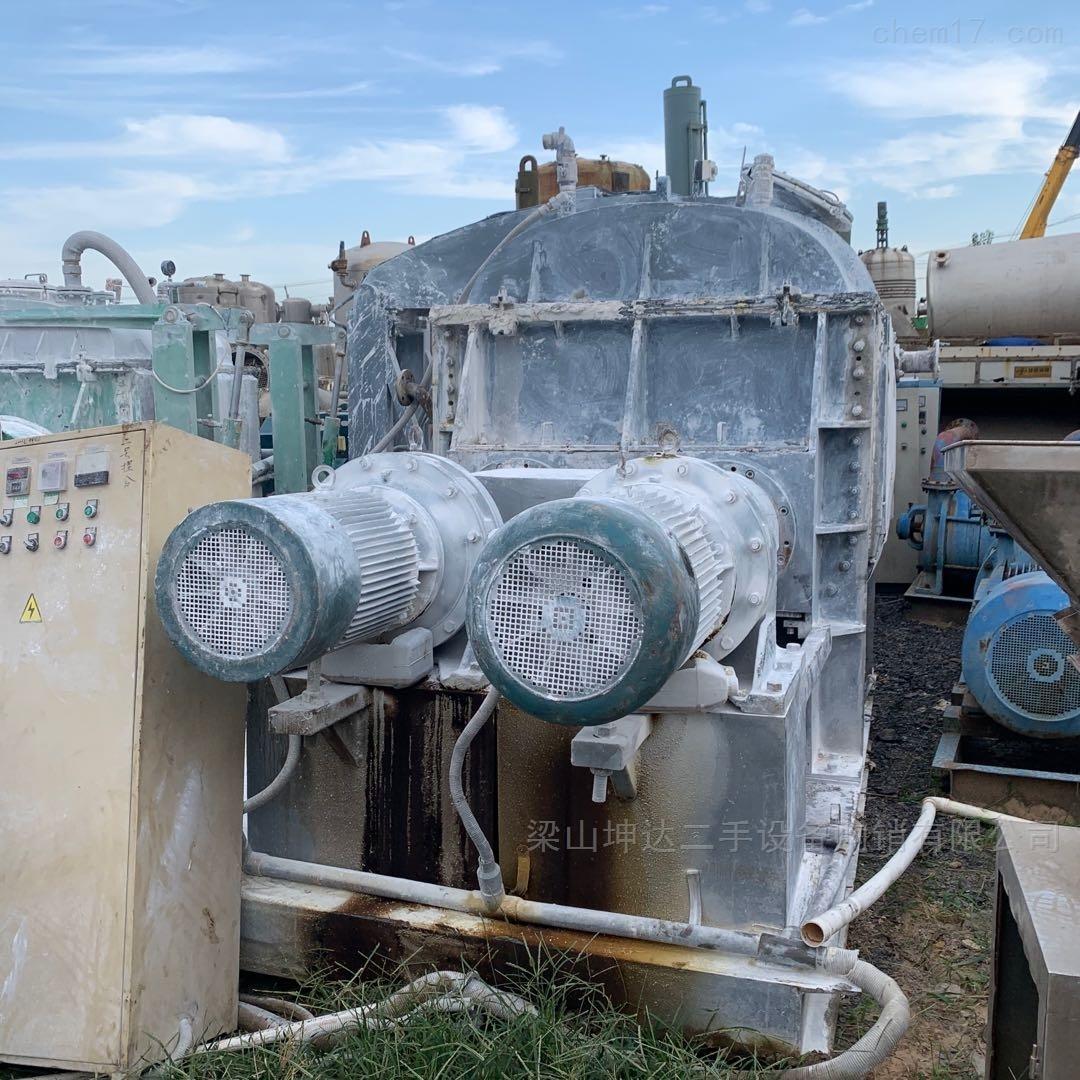 回收二手下出料液压翻缸全自动捏合机