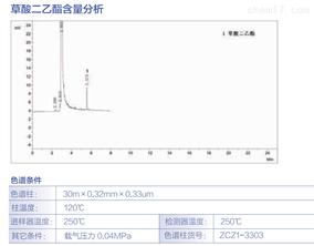 草酸二乙酯含量分析