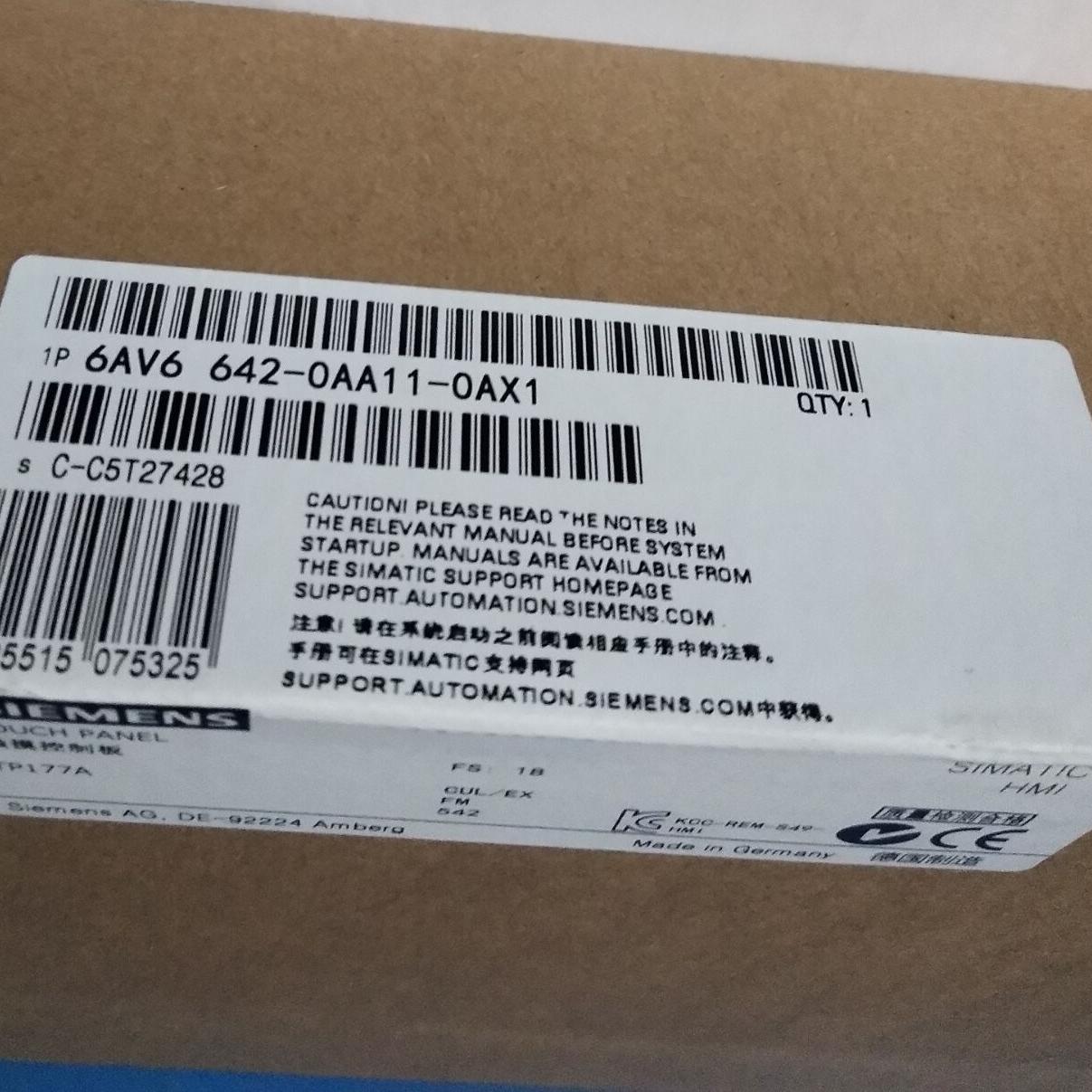 黄石西门子TP 177A 触摸屏模块代理