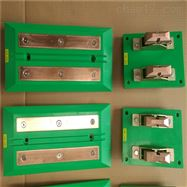 100A四极带通讯功能充电刷 AGV刷板刷块