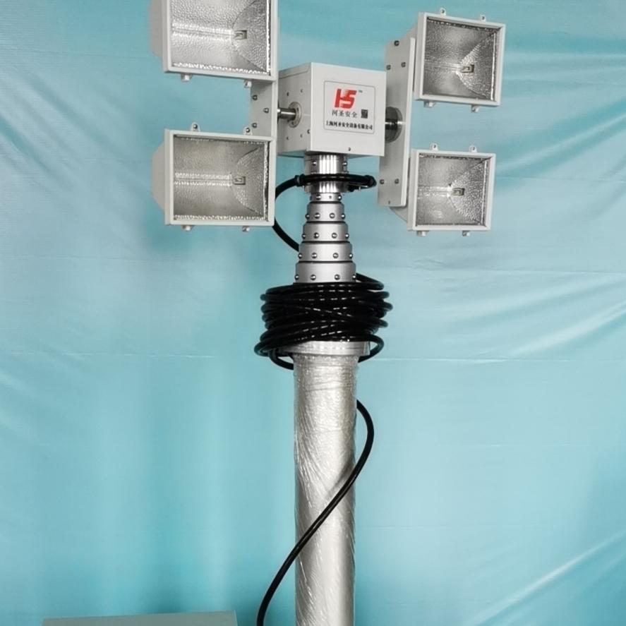 车顶升降照明设备 便携式升降探照灯