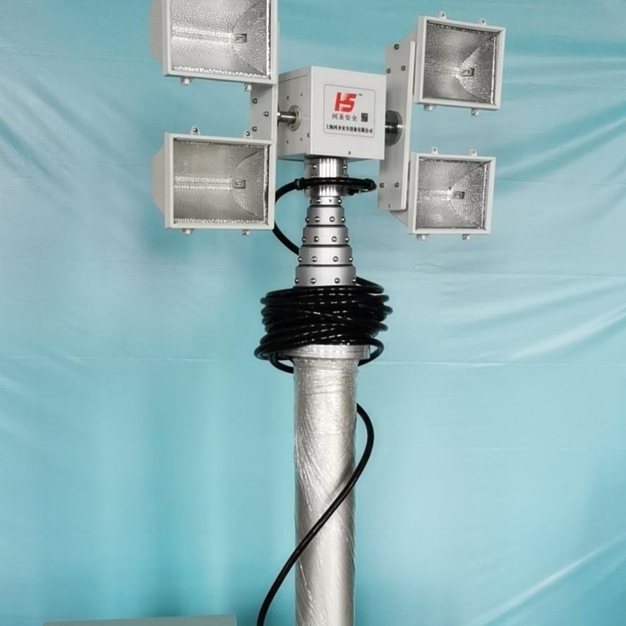 大功率消防应急照明灯 车顶升降设备