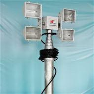 河圣安全 气动升降杆照明装置 车载移动