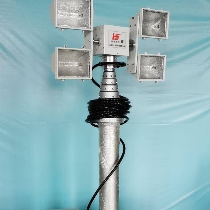 河圣安全 气动式升降灯 1000W照明灯