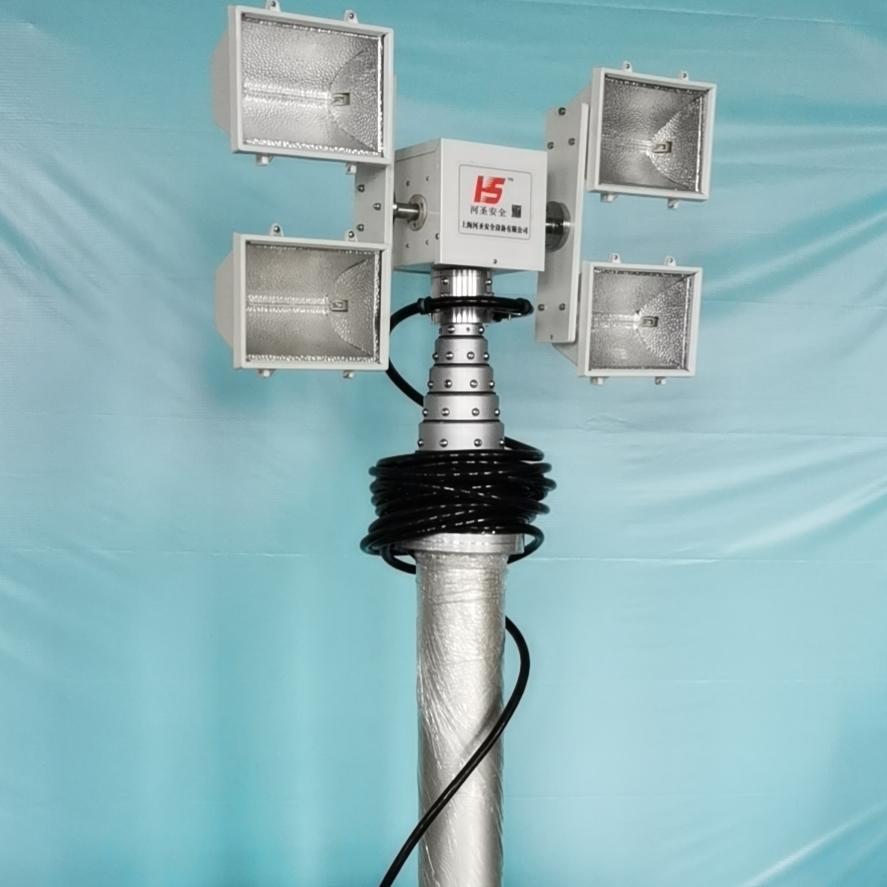河圣安全 排涝车应急照明设备 大功率照明灯