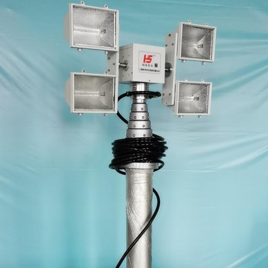 上海河圣 电源车升降照明灯 车载照明设备