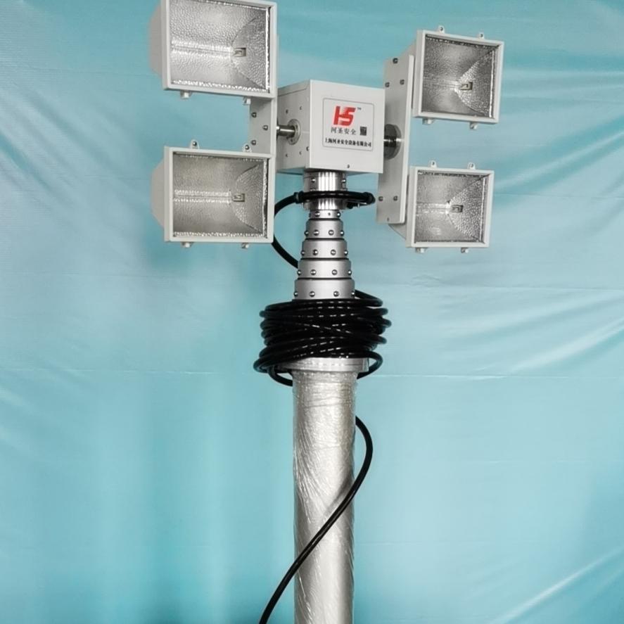 3000W照明灯 直臂式探照灯 河圣安全