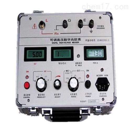 大功率高压绝缘电阻测试仪装置