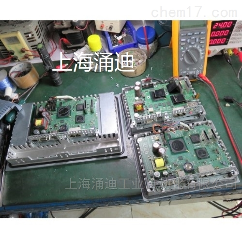 西门子TP700触摸屏通讯灯不亮维修