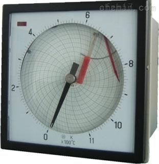 中型圆图自动平衡记录(调节)仪