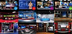 虚拟三维场景虚拟演播室系统介绍 虚拟直播