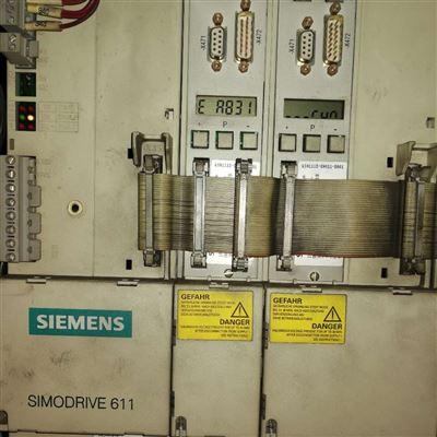 专修复解决西门子机床系统驱动模块报E-A007