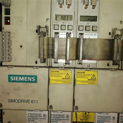 西门子802D系统驱动器报E-B608二小时修好