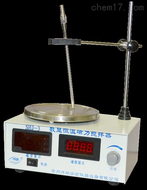 SHJ-3數顯恒溫磁力攪拌器