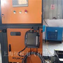 KUKA修复专家KUKA机器人示教器开机无显示画面厂家维修