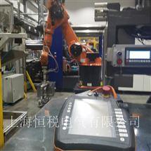 KUKA现场修复KUKA机器人示教器开机进不去系统维修解决