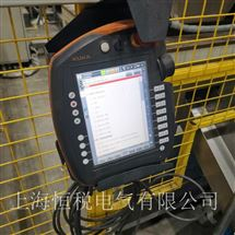 KUKA修好可测KUKA机器人示教器启动停在开机画面不动维修