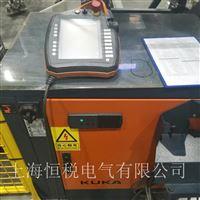 KUKA机器人示教器上电显示蓝屏维修支持热线