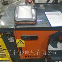 KUKA一天修好KUKA机器人示教器上电显示蓝屏维修支持热线