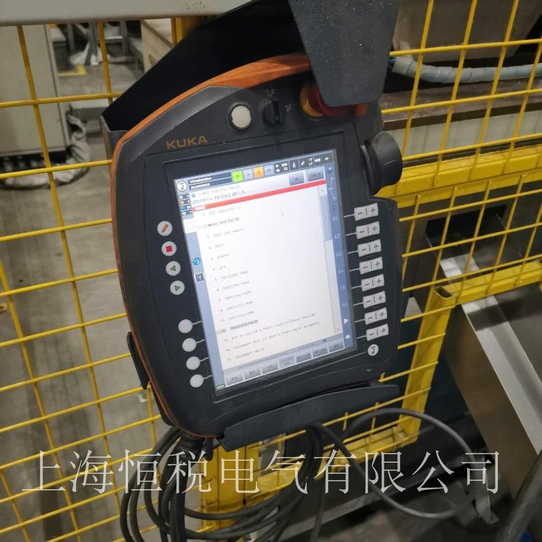 KUKA触摸屏开机无法进入系统厂家维修电话