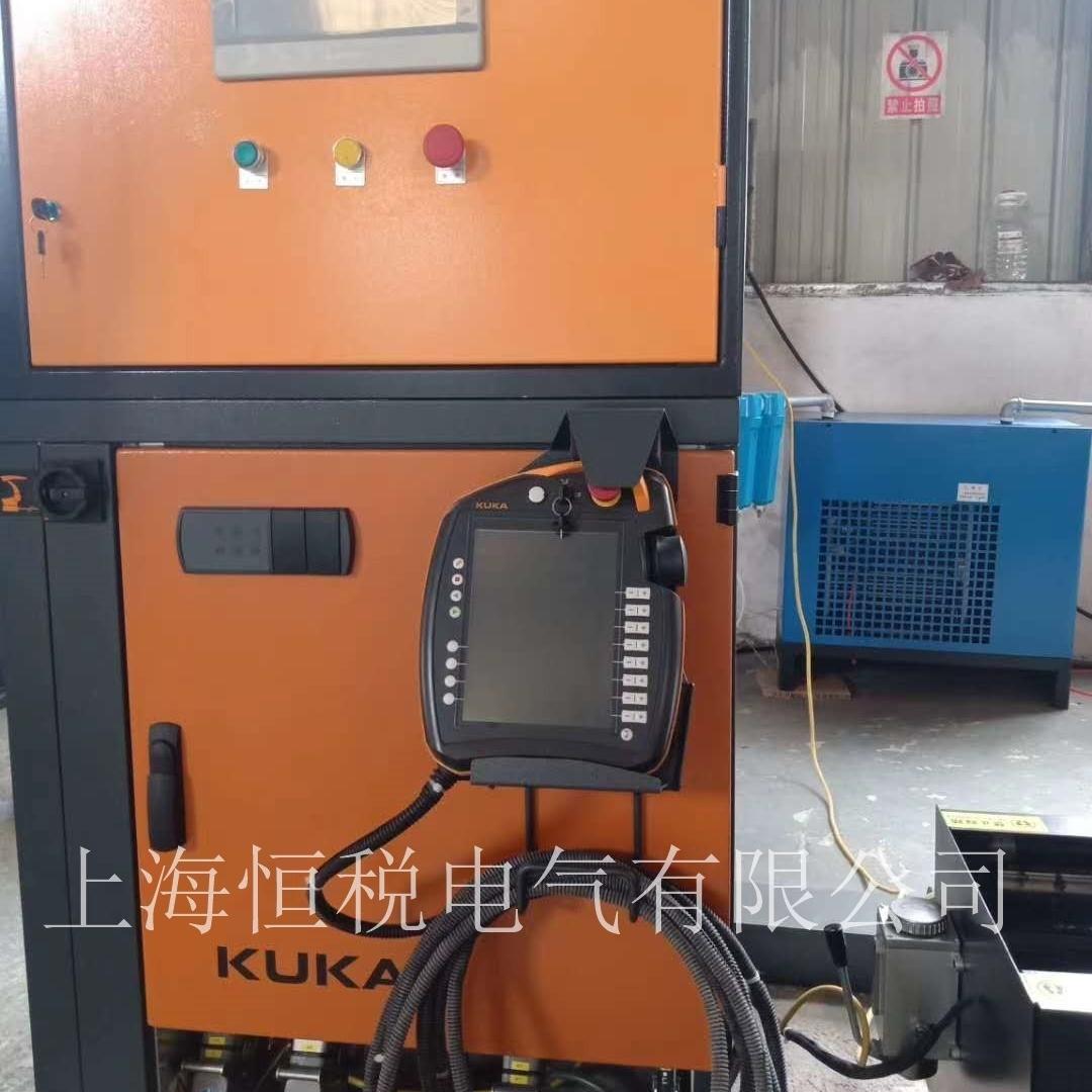 KUKA机器人触摸屏开机启动无反应上门修理