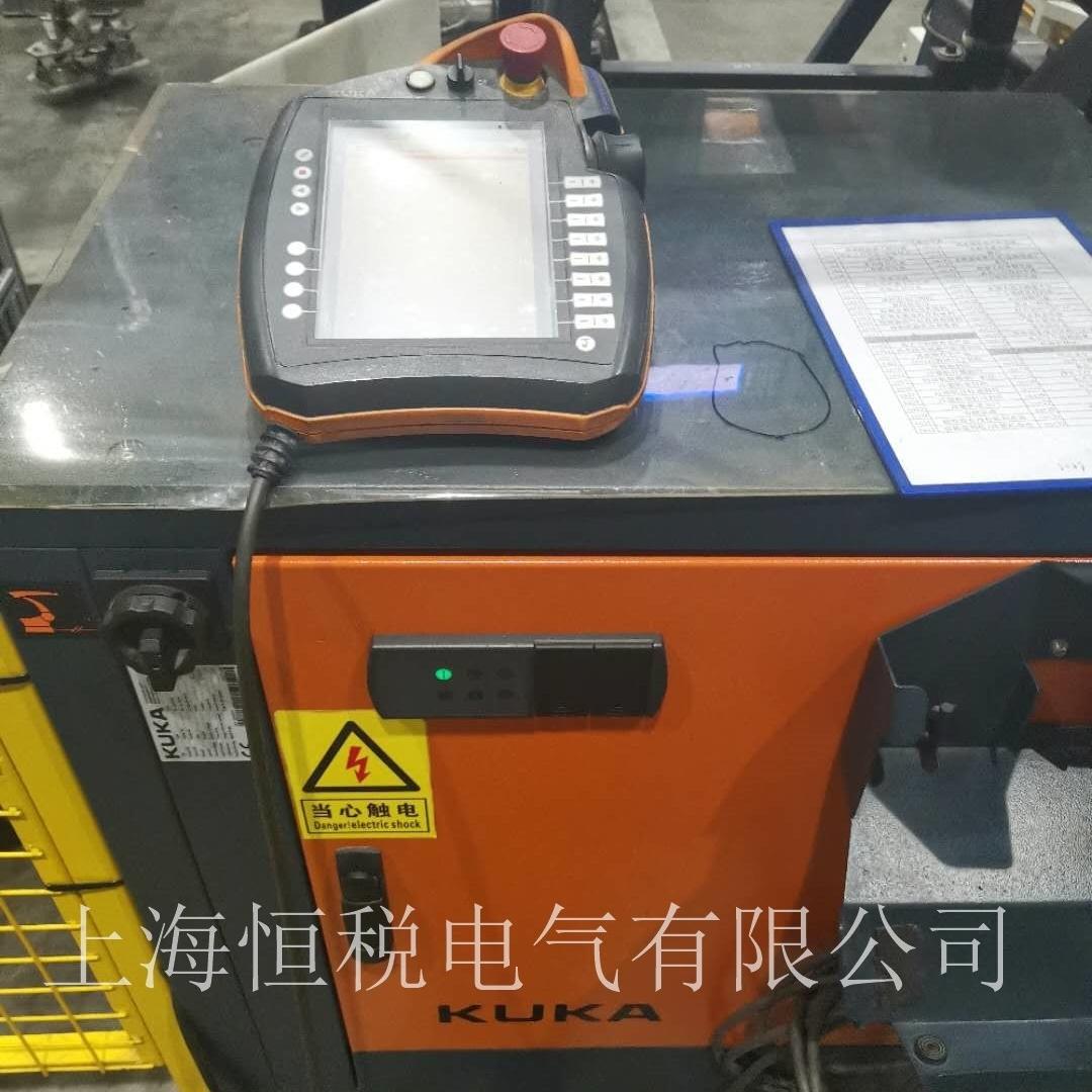 KUKA机器人触摸屏开机黑屏无显示修理电话