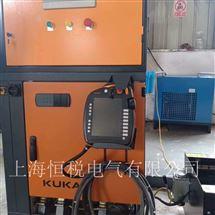 KUKA售后维修KUKA机器人示教器显示通讯数据包丢失修理
