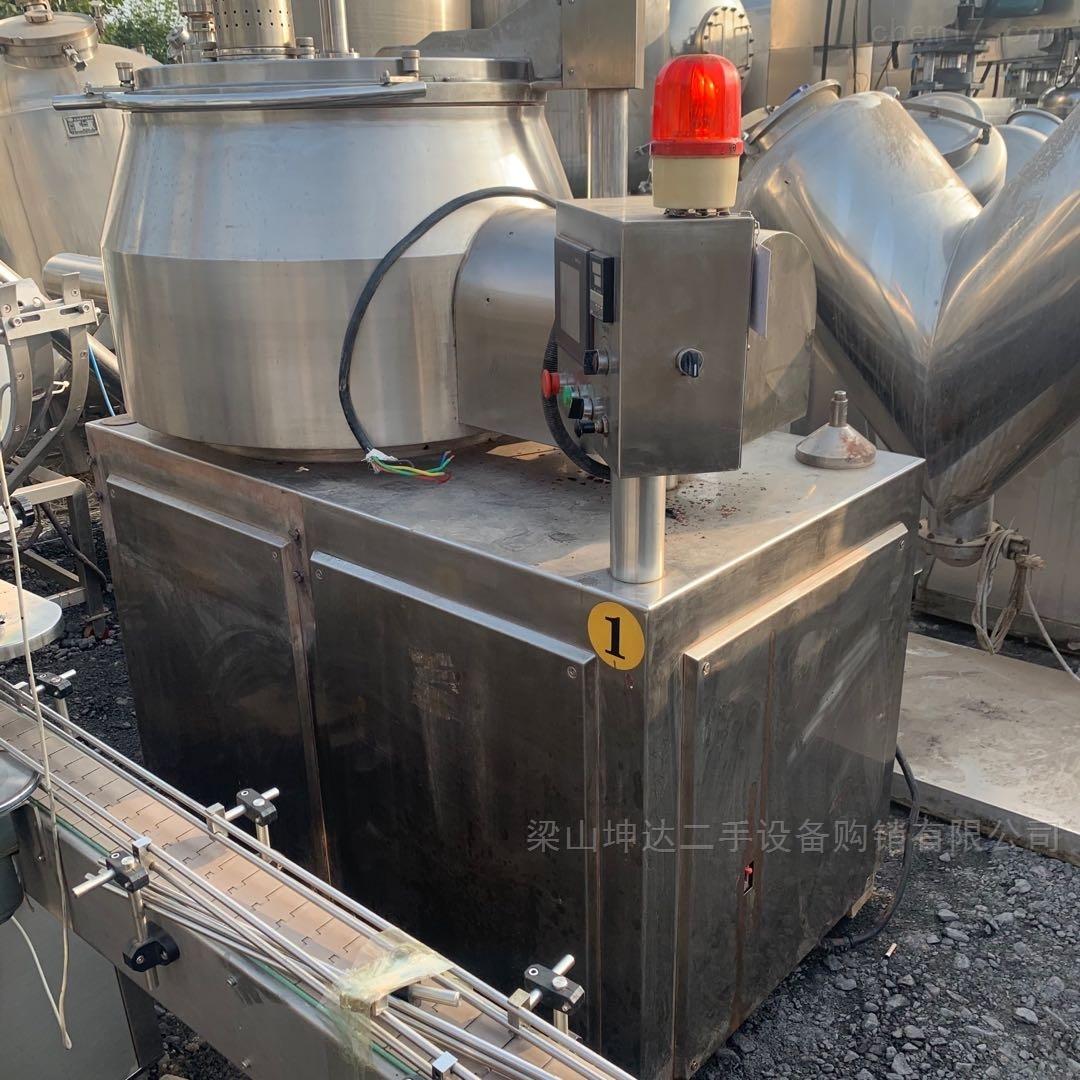 处理多台二手湿法混合机制粒机