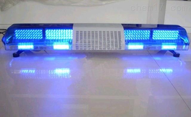 电子警报器红蓝爆闪喊话器长排灯 12V