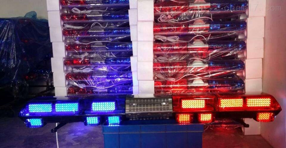 救护车长排警灯蓝色LED星际警灯维修