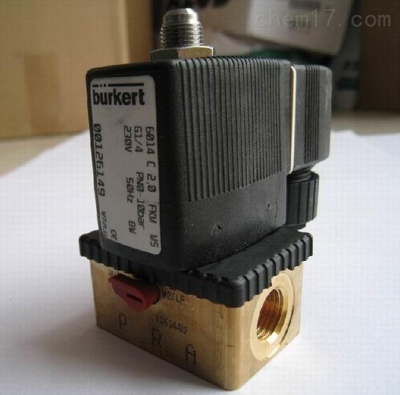 德国BURKERT直动式电磁阀系列详情